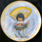Flower Boy: Degrazia Children, Fairmont Plate