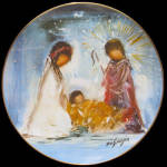 The Nativity: Degrazia Holiday, Fairmont Plate