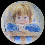 Daydreaming: Frances Hook Legacy Knowles Plate