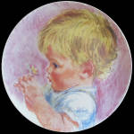 Baby Blossoms: Frances Hook Collection, Roman Plate