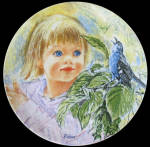 Discovery: Frances Hook Legacy Knowles Plate