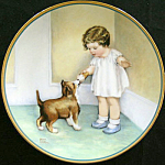 Reward: Child's Best Friend Plate By Bessie Gutmann