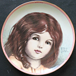 Bunny: Bessie Pease Gutmann Precious Portraits Plate