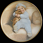 Going To Town: Child's Best Friend Bessie Gutmann Plate