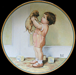 Mine: Child's Best Friend Bessie Gutmann Plate Hamilton