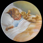 Happy Dreams: Bessie Pease Gutmann Plate