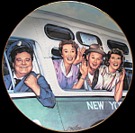 Honeymoon Express: Jackie Gleason Honeymooners Plate
