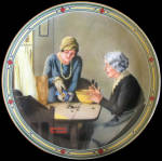 A Family's Full Measure: American Dream Rockwell Plate