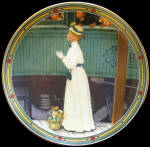A Mother's Welcome: American Dream, Rockwell Plate
