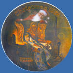 Christmas Dream: Norman Rockwell 1978 Knowles Plate
