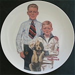 Sunday Best( Norman Rockwell Plate