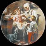 Toy Maker: Norman Rockwell Heritage Plate By Knowles