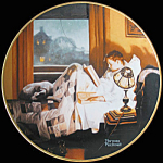 Doorway To The Past Coming Of Age Norman Rockwell Plate