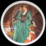 Grandma's Courting Dress: Mother's Day, Rockwell Plate 1984
