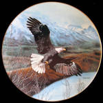 Freedom: Soaring Majesty, Charles Frace Plate By George