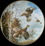 Sudden Takeoff: Game Birds By David Maass, Danbury Mint