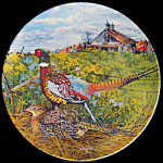 Pheasant: Upland Birds, Wayne Anderson, Knowles Plate