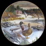 Mallard: Living With Nature A Bart Jerner Knowles Plate
