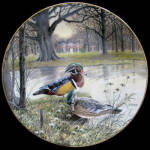 Wood Duck: Living With Nature A Bart Jerner Plate