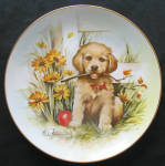 First Fetch: Playful Puppy, Aldo Fazio Plate