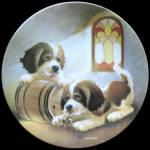 Saint Bernard: Barreling Along: Dog's Life, Lynn Kaatz