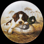 Dog Tired: Field Puppies By Lynn Kaatz, Knowles Plate