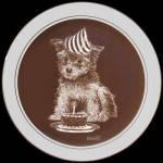 First Birthday: Puppy's World, Droguett , Cornwall Plate