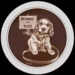 Beware Of Dog: Puppy's World, Droguett, Cornwall Plate