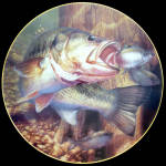 Opportunity Knocks: Bass Beauties Mark Susinno Danbury Mint Plate