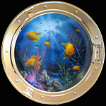 Neptune's Porthole By David Miller, Franklin Mint