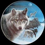 Night Watch: Realm Of The Wolf A Kevin Daniel Plate