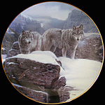 Summit: Winter Guardians A Terry Isaac Bradford Plate
