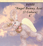 Bearington Angel Bunny Rabbit Baby Grace