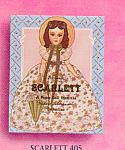 Madame Alexander Paper Doll Scarlett