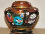 Fine Cloisonne Incense Burner Early 20th Century