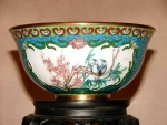 Rare Cloisonne And Painted Enamel Bowl