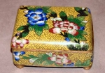 Decorative Old Cloisonne Dresser Box