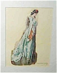 Howard Chandler Christy Print: Victorian Lady