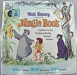 Children's Story Reader And 7 Inch Lp Recording Disney