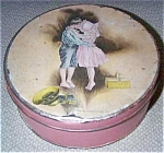 Howard Chandler Christy Signed Candy Tin-old
