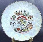 California State Souvenir Collector Plate - Vintage