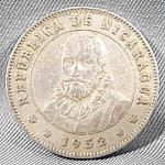 Nicaragua 25 Centavos Coin - 1952