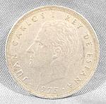 Coin - Spain 25 Pesetas 1975