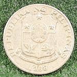 Coin - Philippines 10 Sentimos - 1969