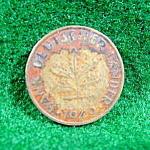 Coin - Germany 10 Pfennig - 1949 - D