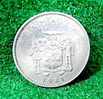 Coin - Jamaica 10 Cents - 1981