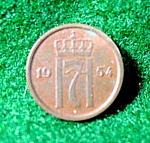 Coin - Norway 1 Ore - 1954