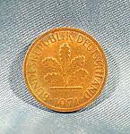 Coin - Germany 1 Phennig - 1971f - Federal Republic