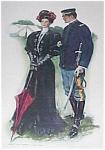 Vintage Print Lady & Soldier Clarence Underwood