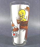 Character Glass - Tweety And Sylvester - 1976